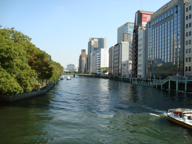 写真4(川 淀屋橋より) 大阪の街のご紹介写真