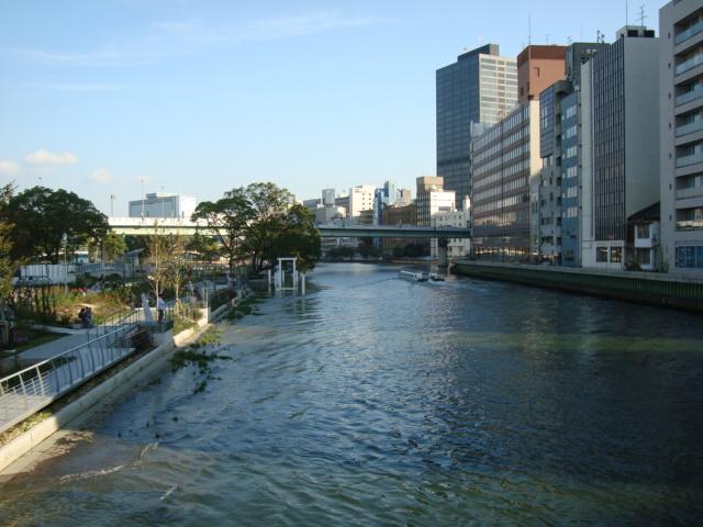 写真10(川 北浜より) 大阪の街のご紹介の写真