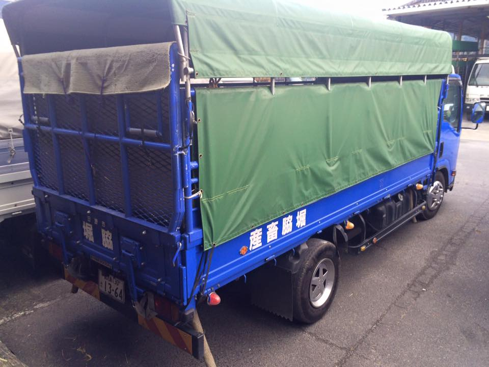家畜運搬車の写真8